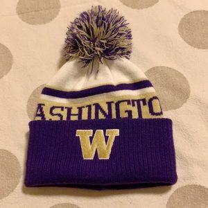Adidas UW University of Washington Beanie Hat